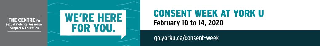 Consent Week at YorkU